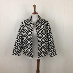 Boden Francesca 3/4 Sleeve Printed Jacket